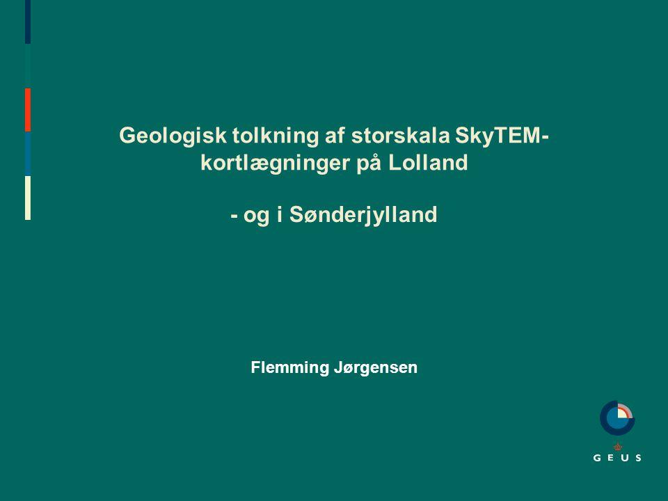 Geologisk tolkning af storskala SkyTEM-kortlægninger på Lolland