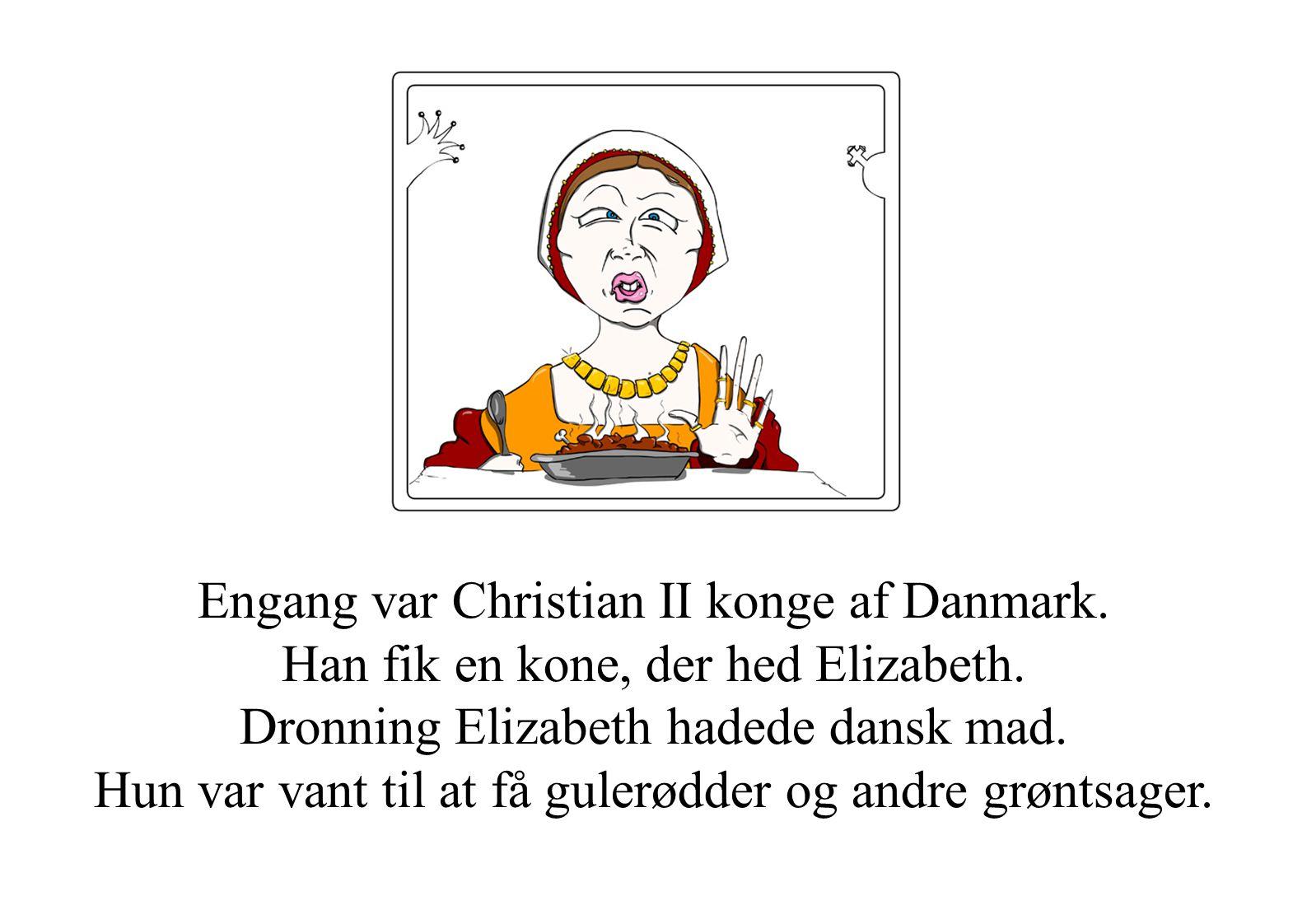 Engang var Christian II konge af Danmark