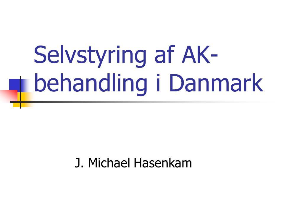 Selvstyring af AK-behandling i Danmark