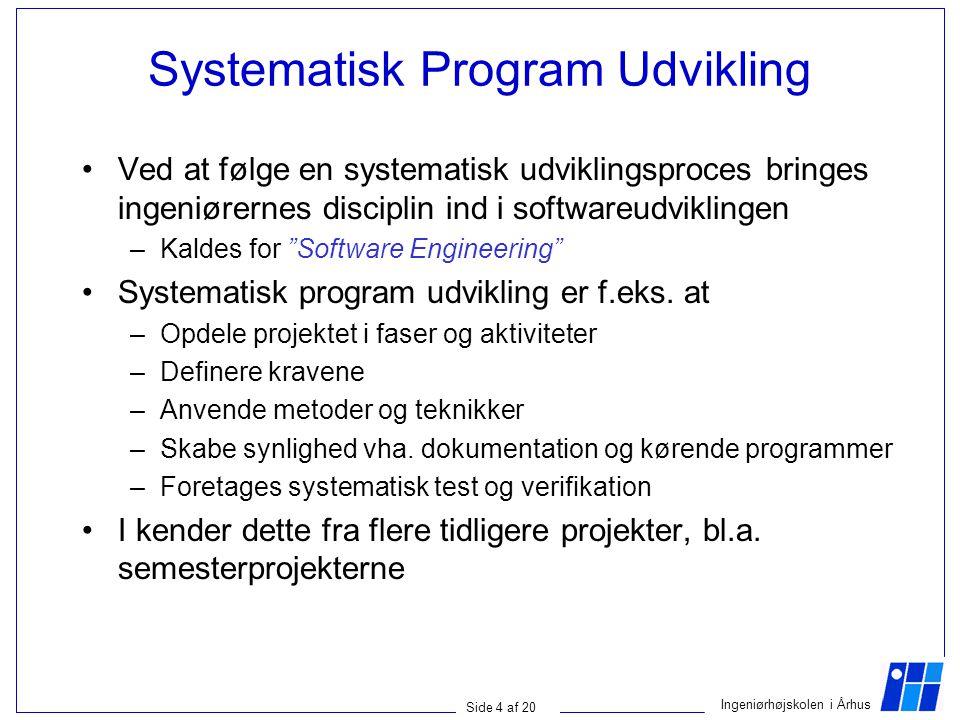 Systematisk Program Udvikling