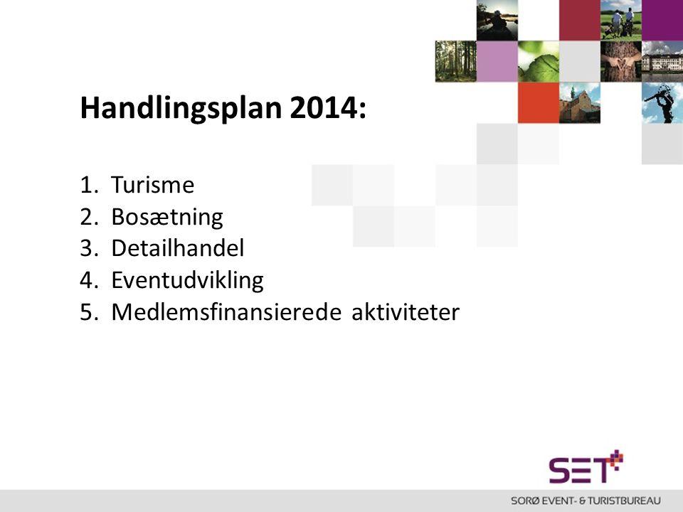 Handlingsplan 2014: Turisme Bosætning Detailhandel Eventudvikling