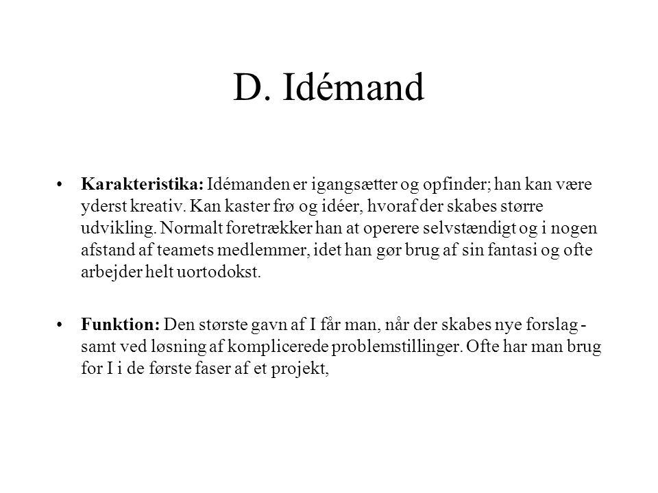 D. Idémand
