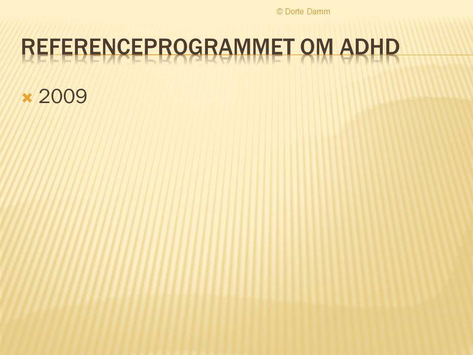 Referenceprogrammet om ADHD
