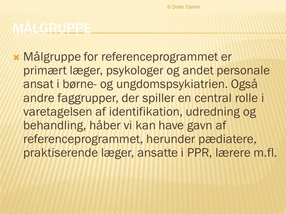 © Dorte Damm Målgruppe.