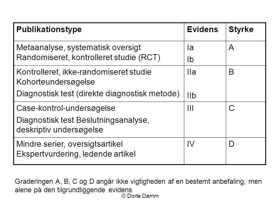 Kontrolleret, ikke-randomiseret studie Kohorteundersøgelse