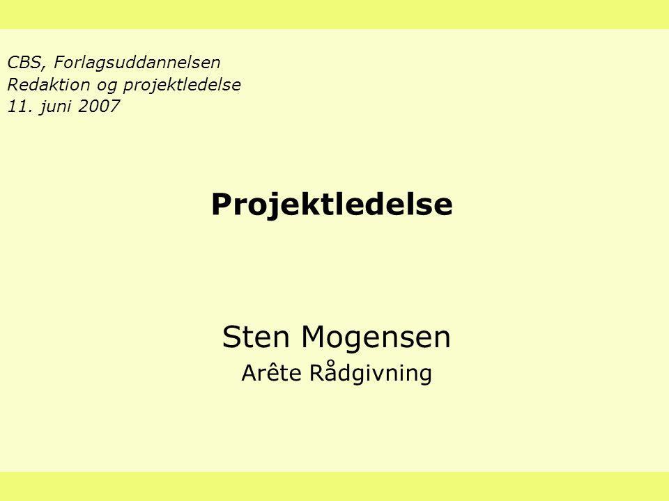 Digitalisering & Modenhed Sten Mogensen Arête Rådgivning