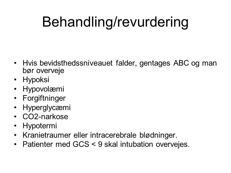 Behandling/revurdering