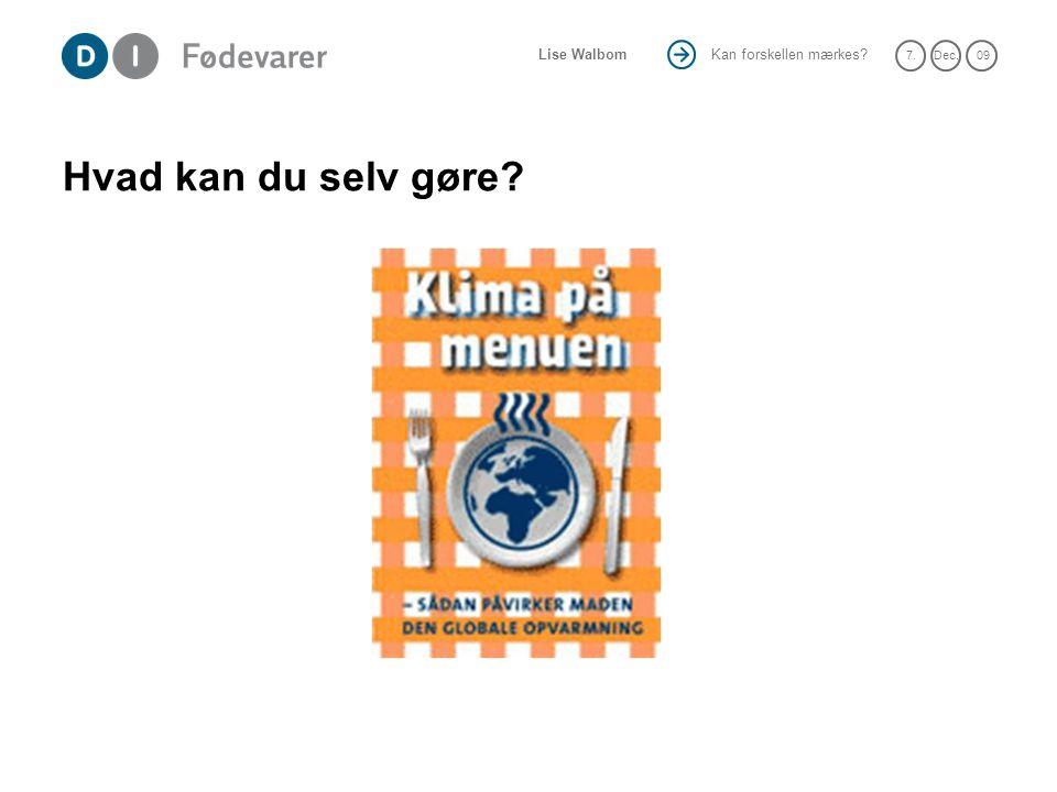 Hvad kan du selv gøre Fx kampagne fra Coop Danmark.