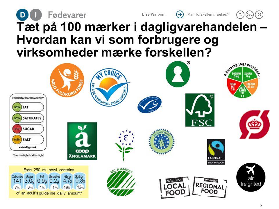 Tæt på 100 mærker i dagligvarehandelen – Hvordan kan vi som forbrugere og virksomheder mærke forskellen