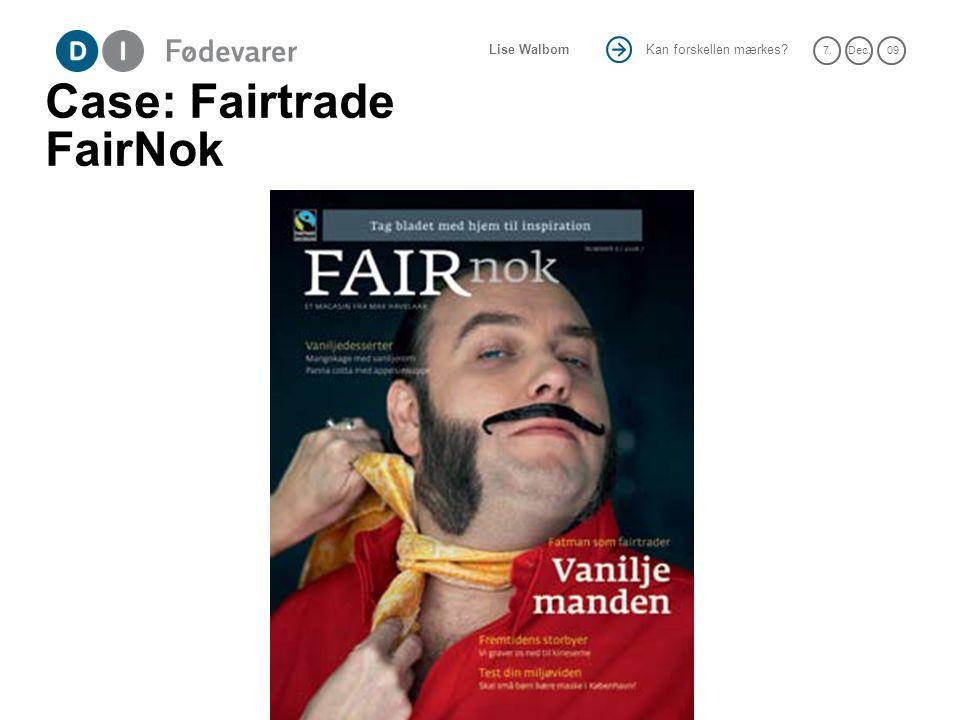 Case: Fairtrade FairNok