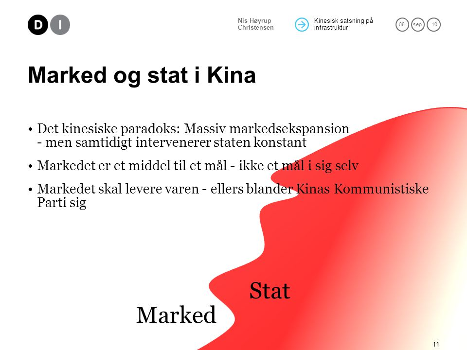 Stat Marked Marked og stat i Kina