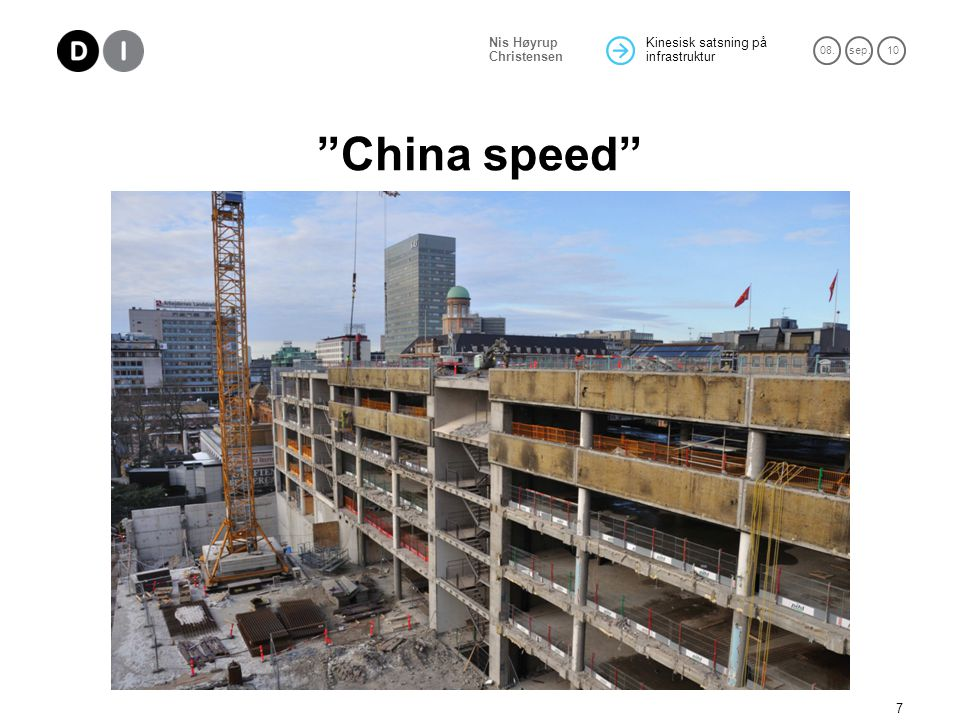 China speed