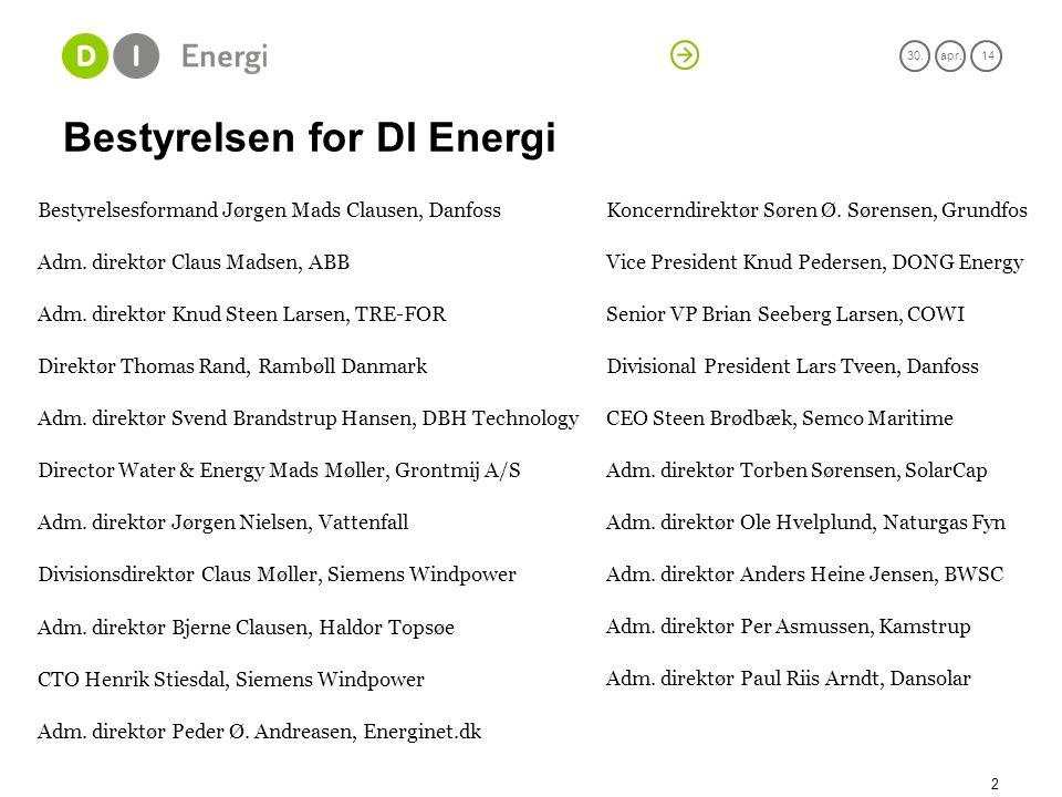 Bestyrelsen for DI Energi