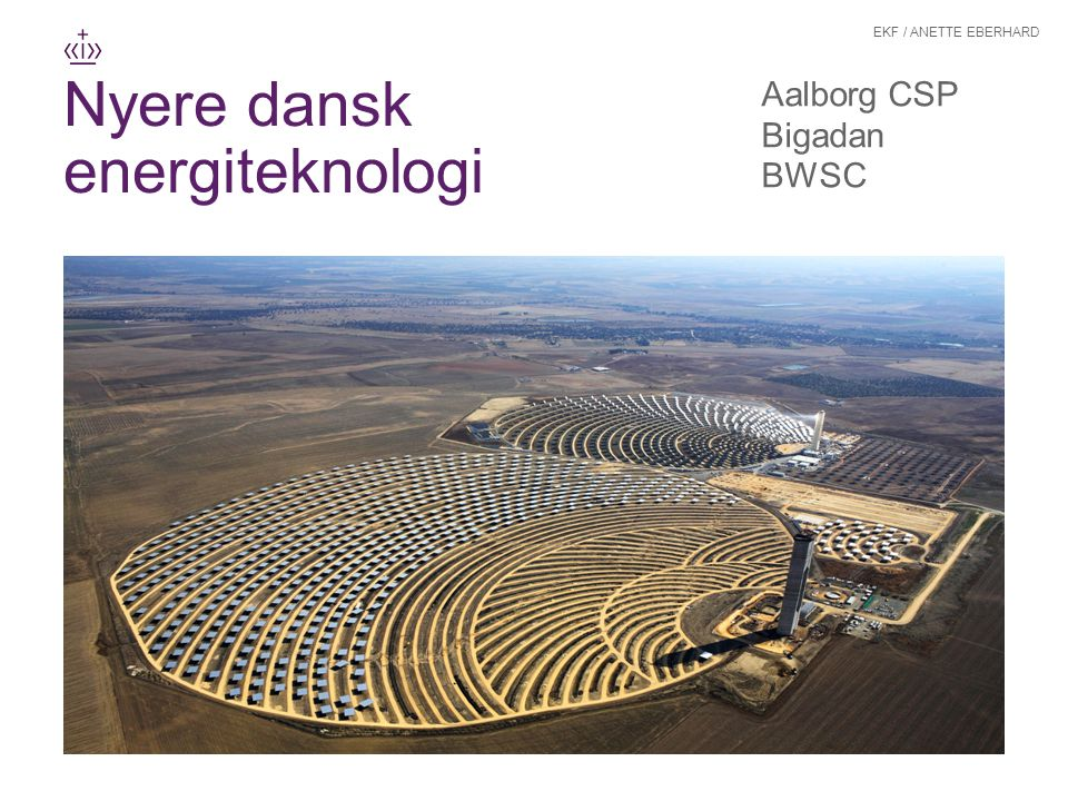 Nyere dansk energiteknologi