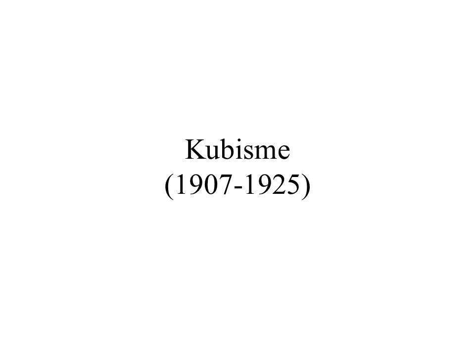 Kubisme (1907-1925)