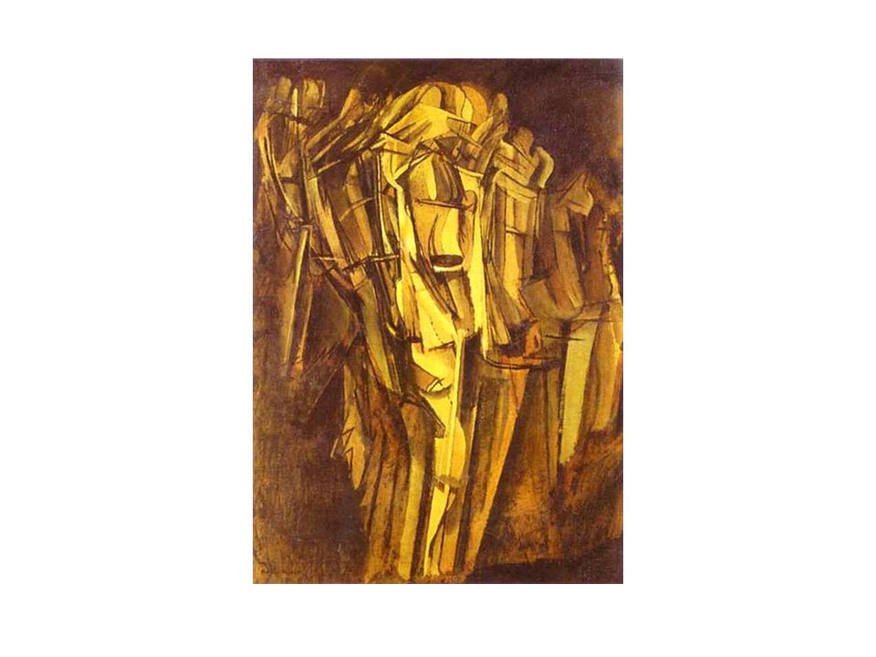 Marcel Duchamp. Sad Young Man in a Train/ Jeune homme triste dans un train