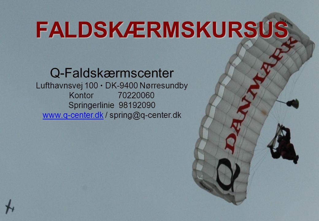 FALDSKÆRMSKURSUS Q-Faldskærmscenter