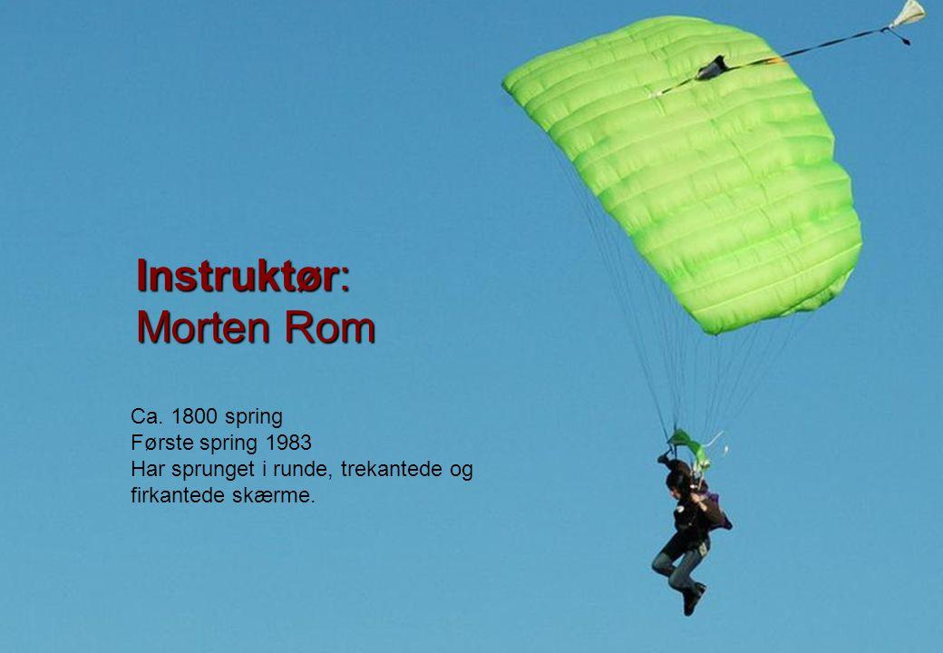 Instruktør: Morten Rom