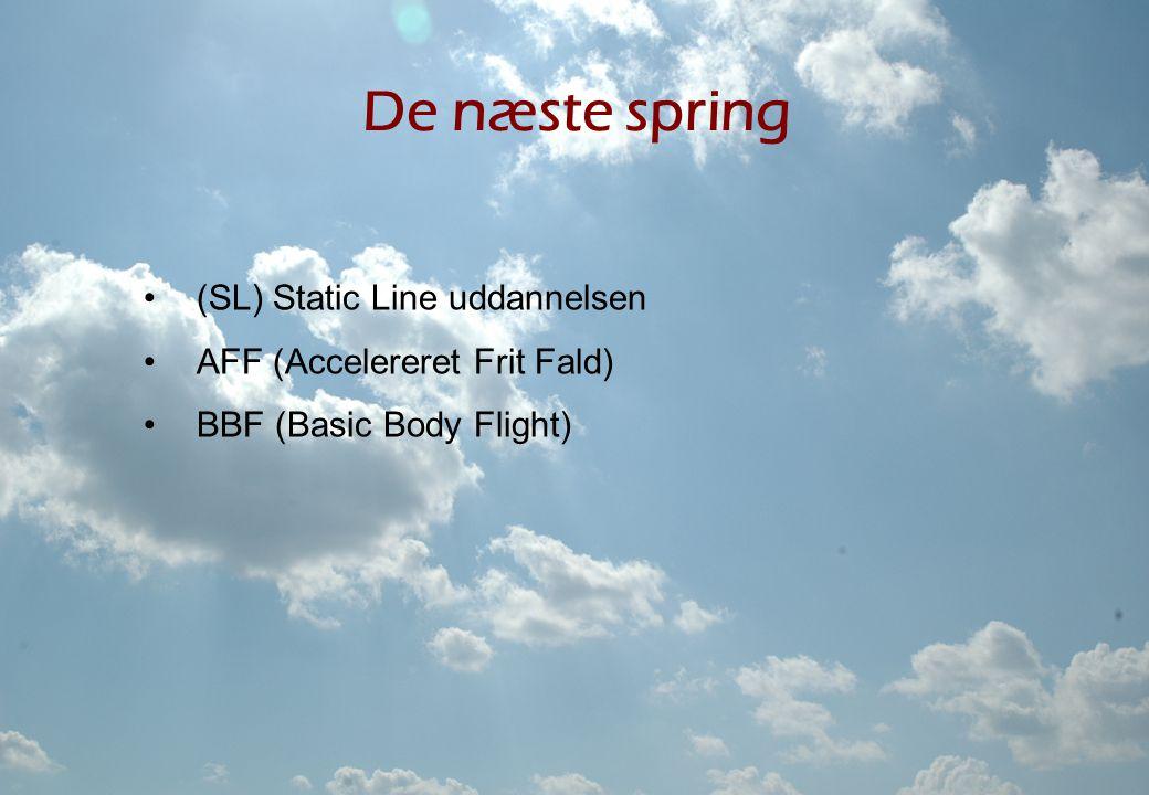 De næste spring (SL) Static Line uddannelsen