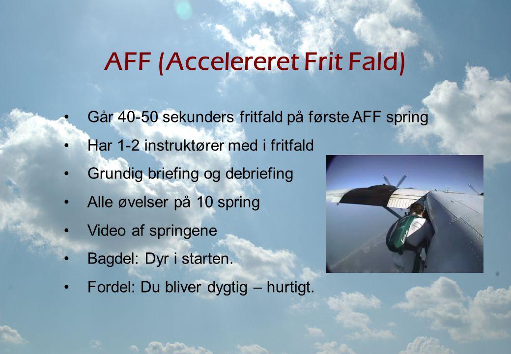 AFF (Accelereret Frit Fald)