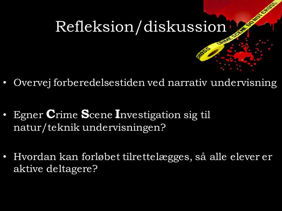 Refleksion/diskussion