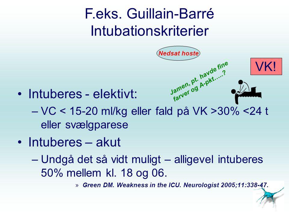 Intubationskriterier