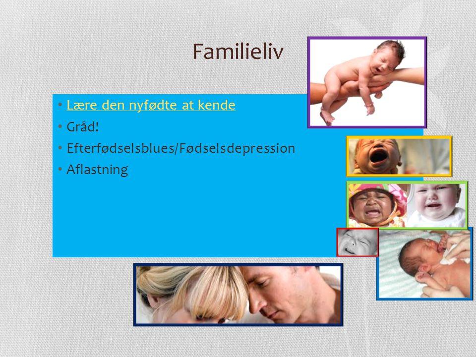 Familieliv Lære den nyfødte at kende Gråd!