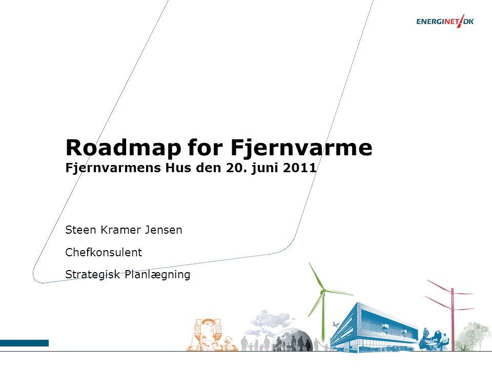 Roadmap for Fjernvarme Fjernvarmens Hus den 20. juni 2011