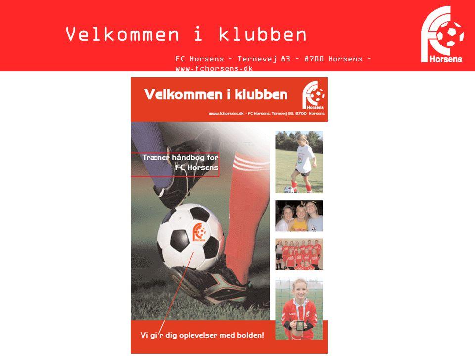 Velkommen i klubben FC Horsens – Ternevej 83 – 8700 Horsens – www.fchorsens.dk