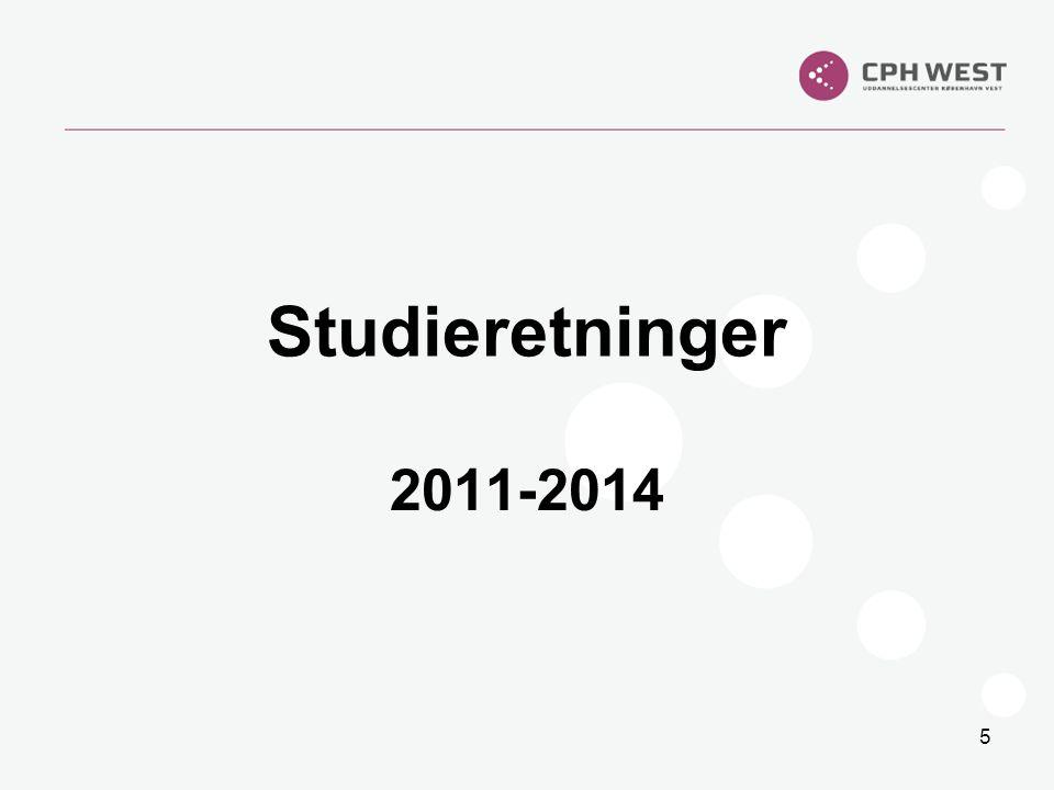 Studieretninger 2011-2014