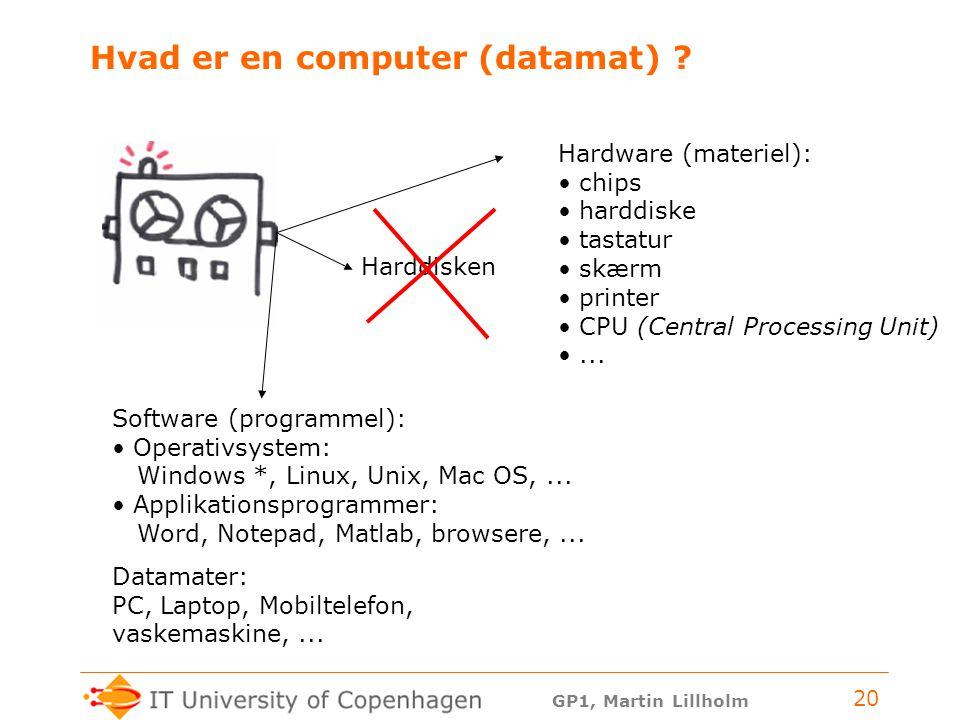 Hvad er en computer (datamat)