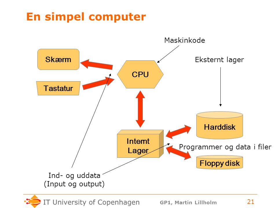 Programmer og data i filer