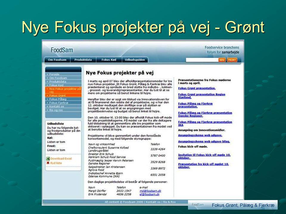 Nye Fokus projekter på vej - Grønt