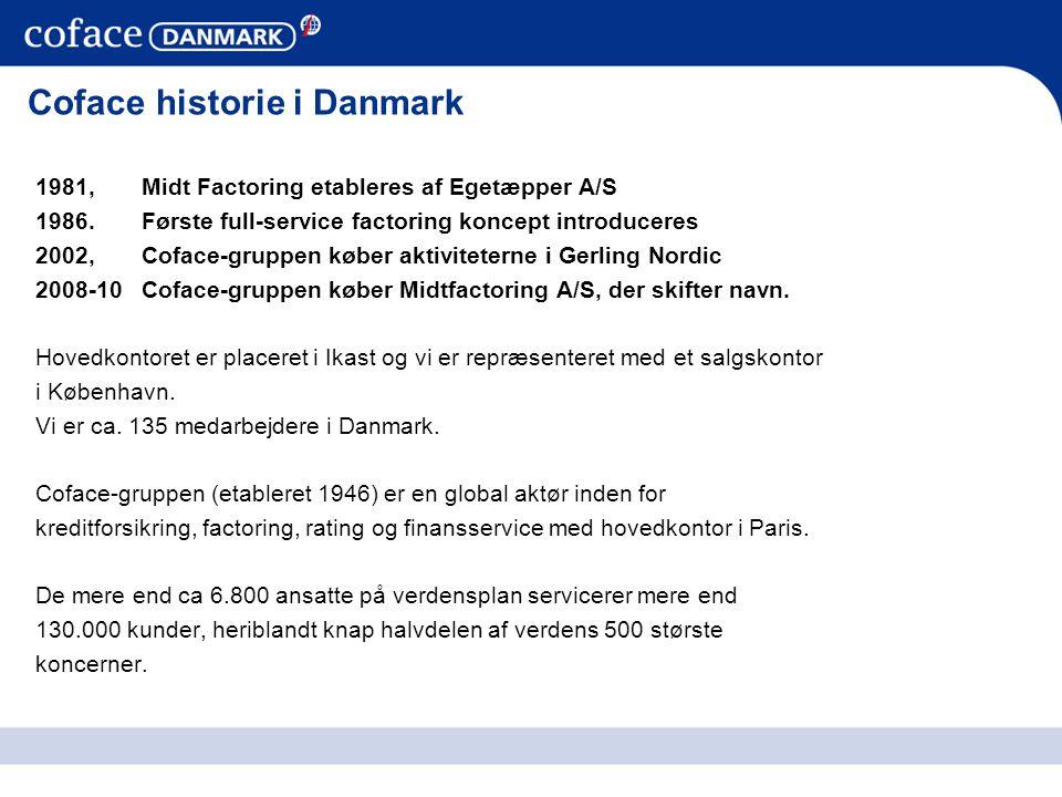 Coface historie i Danmark