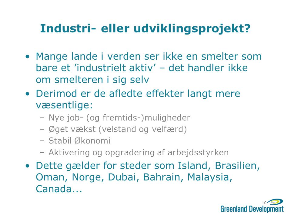 Industri- eller udviklingsprojekt