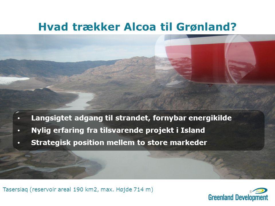 Hvad trækker Alcoa til Grønland