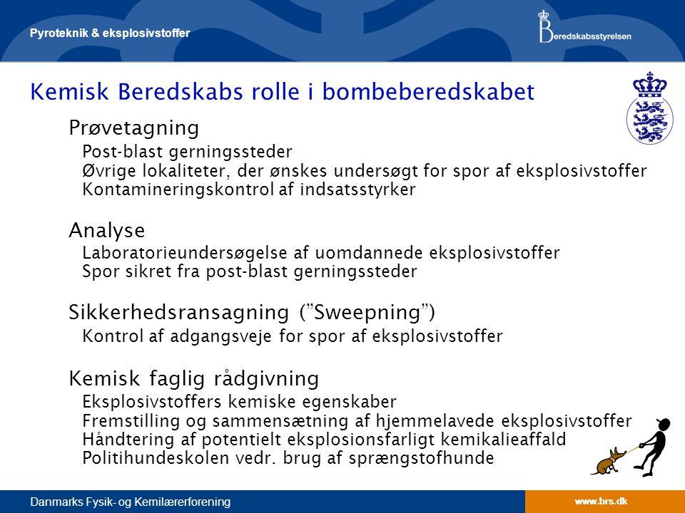 Kemisk Beredskabs rolle i bombeberedskabet