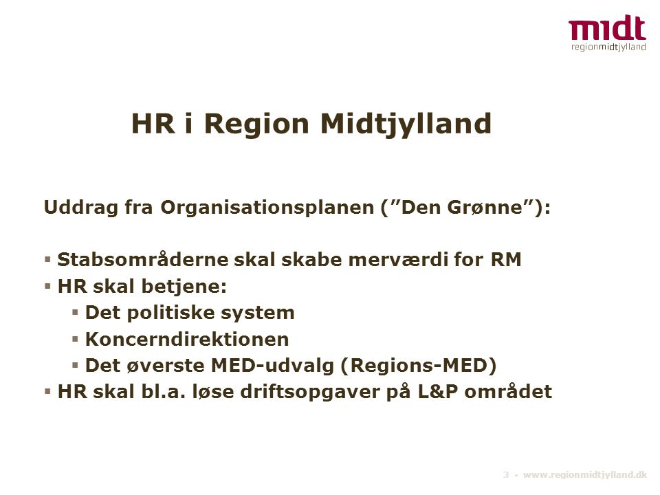HR i Region Midtjylland