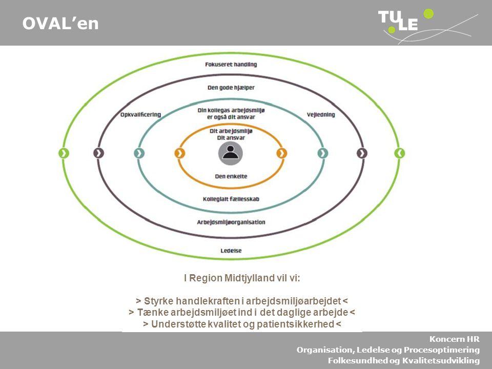 OVAL'en I Region Midtjylland vil vi: