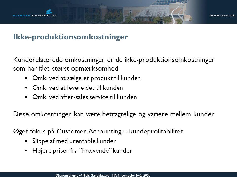 Ikke-produktionsomkostninger