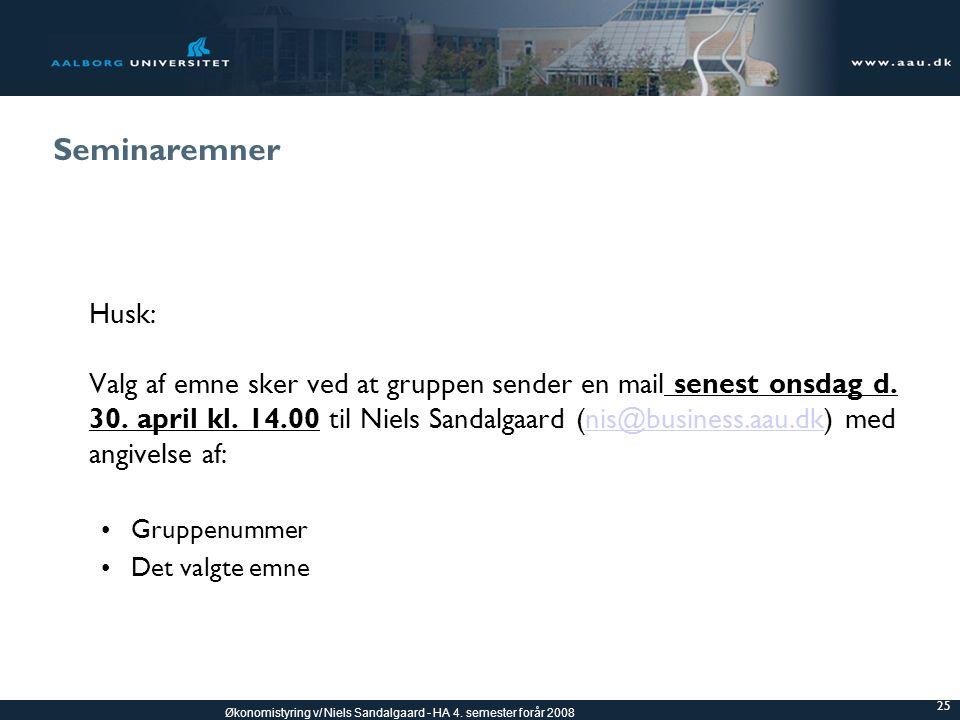 Seminaremner Husk: