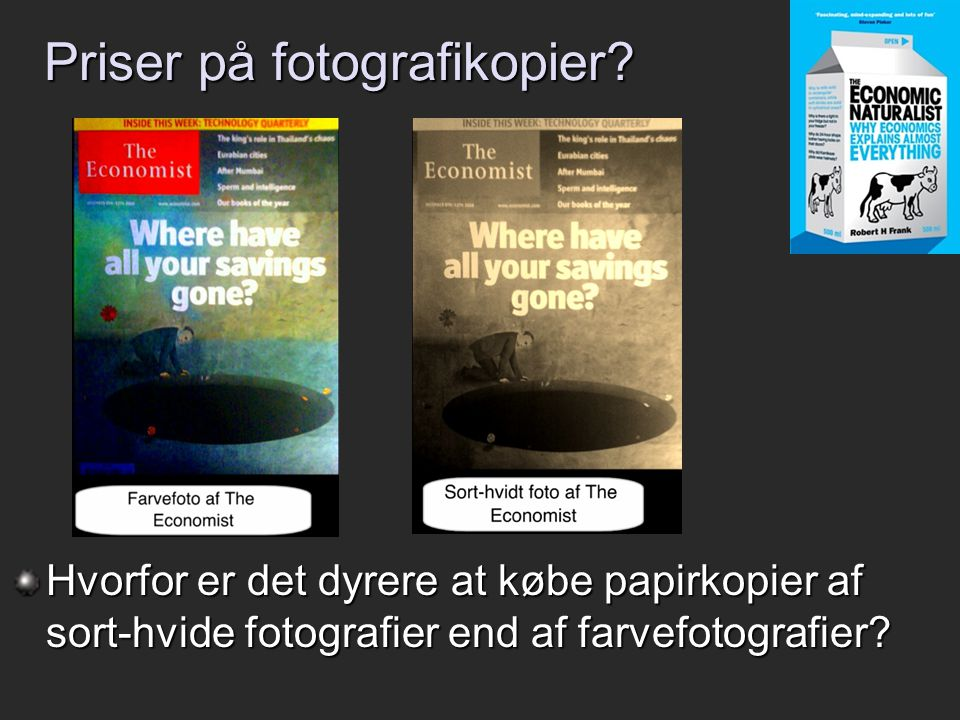 Priser på fotografikopier