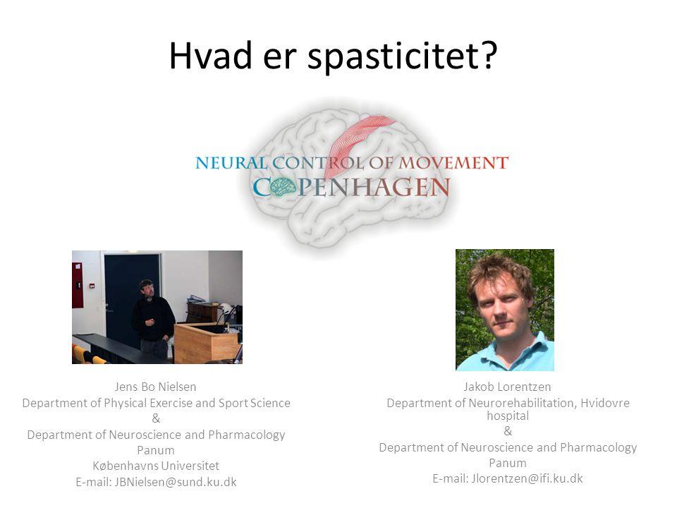 Hvad er spasticitet Jens Bo Nielsen