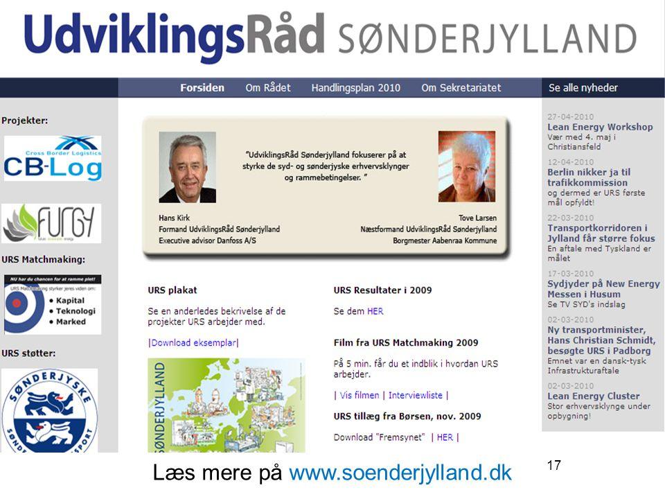 Læs mere på www.soenderjylland.dk