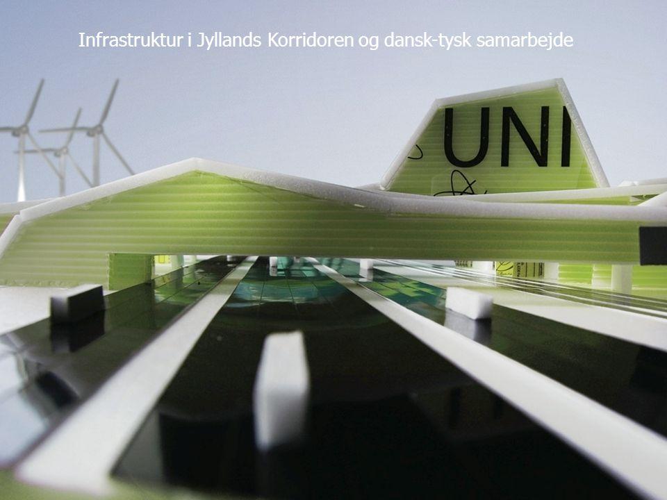 Infrastruktur i Jyllands Korridoren og dansk-tysk samarbejde
