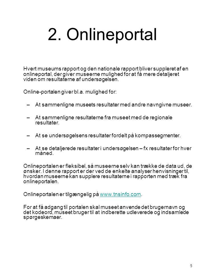 2. Onlineportal