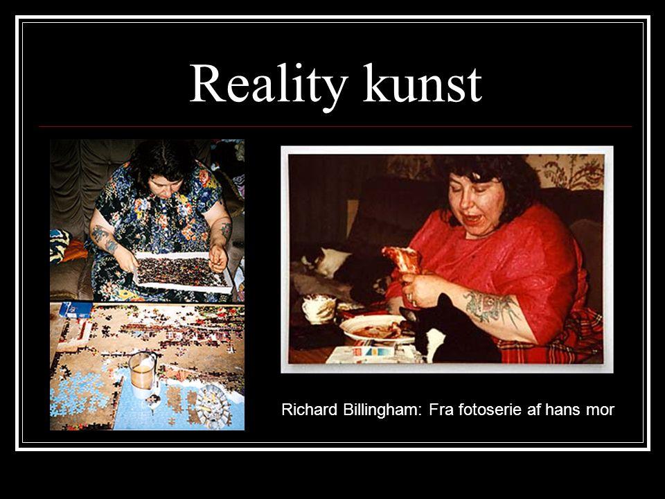 Reality kunst Richard Billingham: Fra fotoserie af hans mor