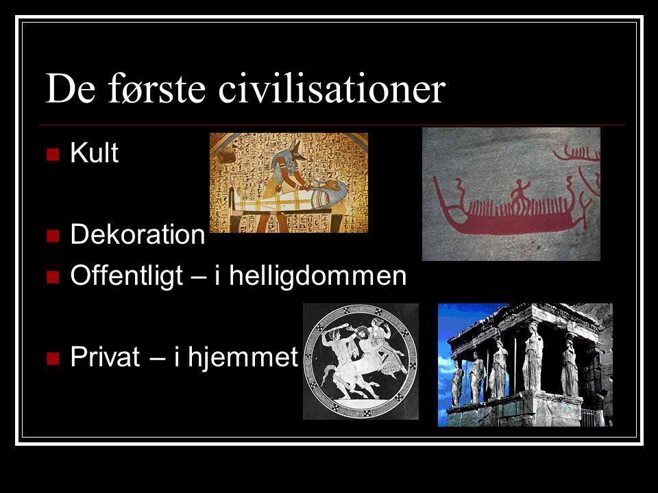 De første civilisationer