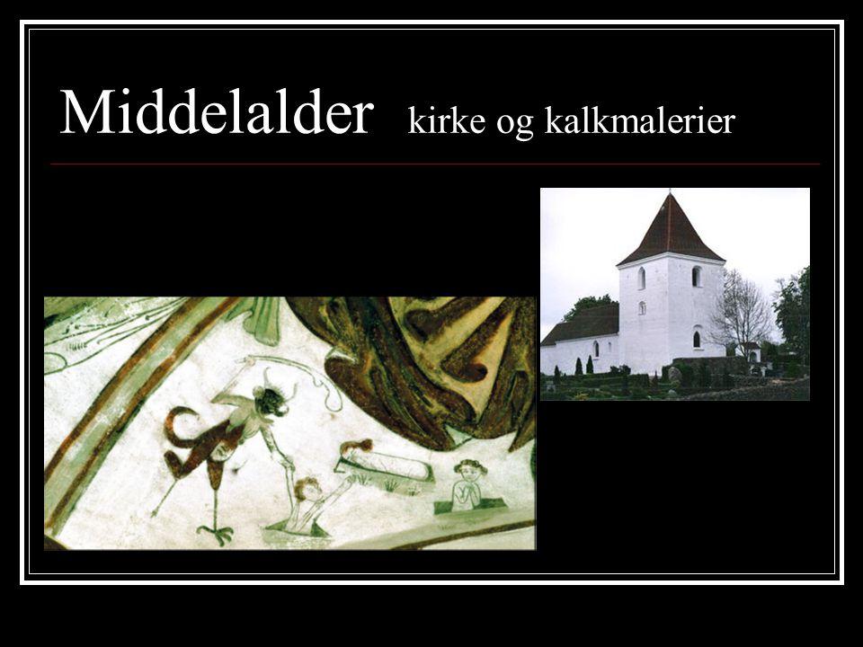 Middelalder kirke og kalkmalerier