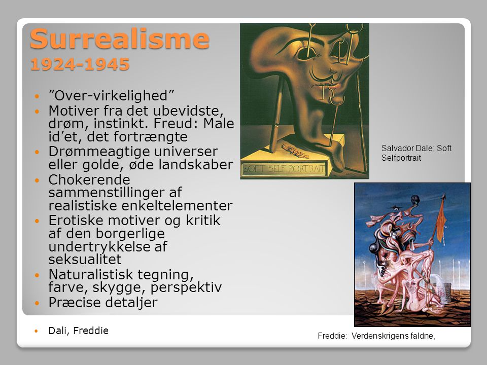 Surrealisme 1924-1945 Over-virkelighed
